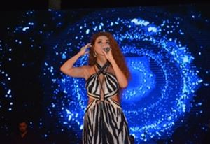 The Queen of Stage Myriam Fares at Cleopatra Luxury Resort Sharm El Sheikh
